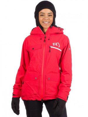Ortovox Ortovox 2L Swisswool Andermatt Jacket rood