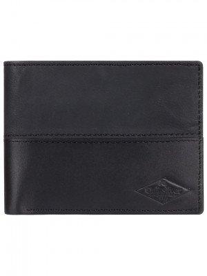 Quiksilver Quiksilver Desertruker Wallet zwart