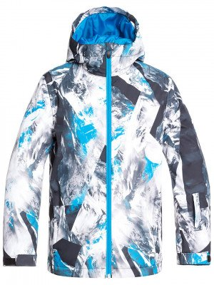 Quiksilver Quiksilver Mission Printed Jacket blauw