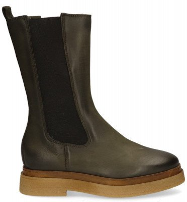Gioia Gioia 2PALAS204 Donkergroen Dames Chelseaboots