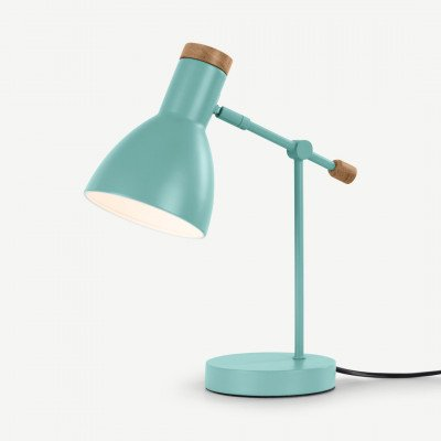 MADE.COM Cohen nachtkast lamp, arkade groen