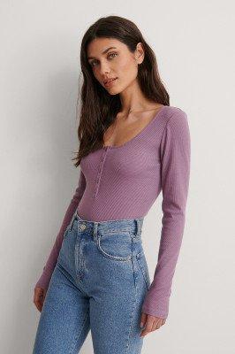 NA-KD NA-KD Henleytop - Purple