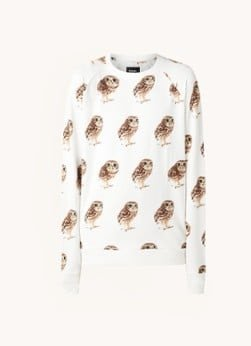 Snurk Snurk Night Owl pyjamatop van biologisch katoen met print