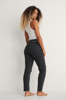Calvin Klein Calvin Klein Mom Jeans - Black