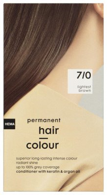 HEMA Haarkleuring Lichtbruin 7/0