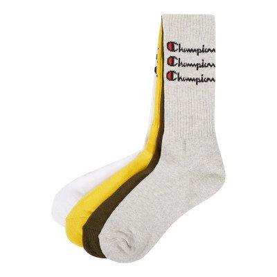 Champion Sokken met logo in een set van 4 paar