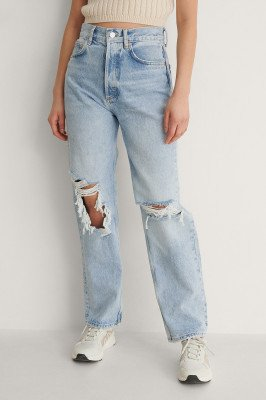 Mango MANGO Rechte Jeans - Blue