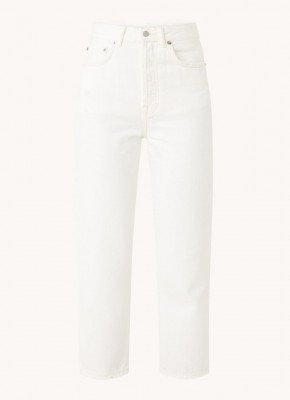 Acne Studios Acne Studios Mece Beaten high waist straight fit cropped mom jeans
