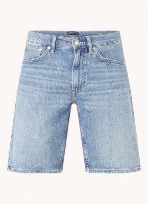 Gant Gant Straight fit korte broek van denim
