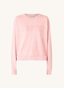 Levi's Levi's Diana sweater met logoborduring