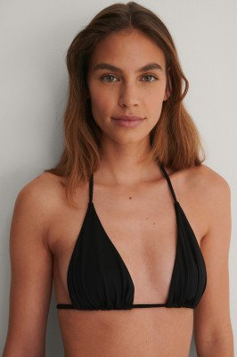NA-KD Swimwear NA-KD Swimwear Gerecycleerd Bikinitop - Black
