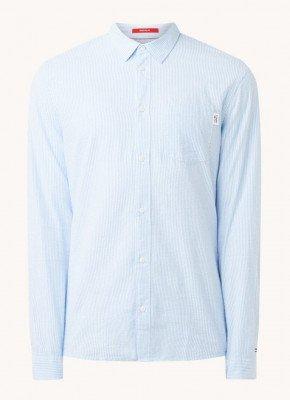 Tommy Hilfiger Tommy Hilfiger Regular fit overhemd met streepprint