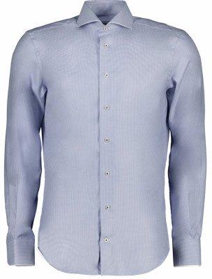Cavallaro Napoli Cavallaro Napoli Heren Overhemd - Patso Overhemd - Blauw