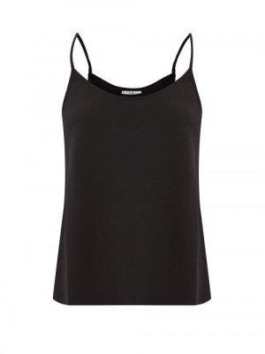 Matchesfashion Co - Crepe Camisole - Womens - Black