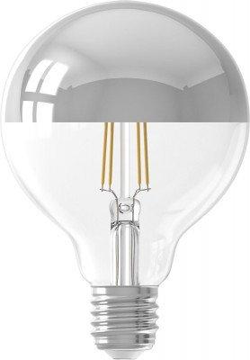 HEMA HEMA LED Lamp 4W - 280 Lm - Globe - Kopspiegel Zilver (zilver)