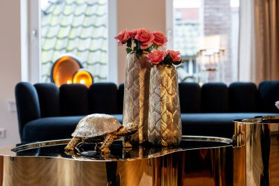 Richmond Interiors Richmond Decoratie 'Turtle' kleur Goud