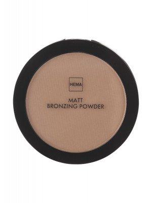 HEMA Matt Bronzing Powder Dark (brons)