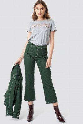 Moves x NA-KD Misanda Pants - Green