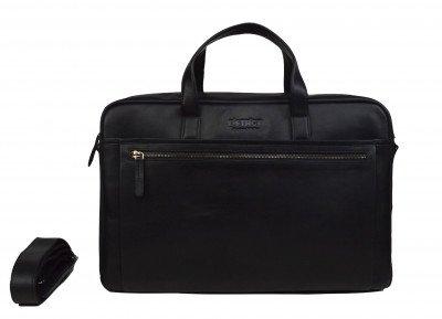 DSTRCT DSTRCT Premium 17 inch Laptoptas Zwart