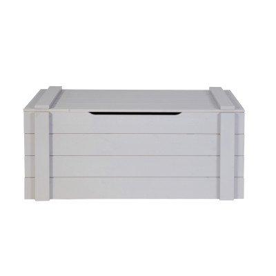 WOOOD WOOOD Speelgoedkist 'Dennis', kleur betongrijs
