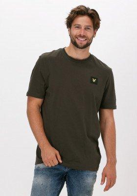Lyle en Scott Groene Lyle & Scott T-shirt Tipped T-shirt