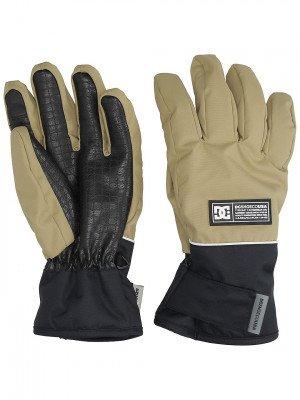 DC DC Franchise Gloves bruin