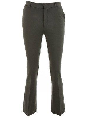 YAYA YAYA 7/8 length kick flare trousers