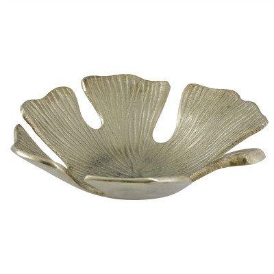 Firawonen.nl PTMD Melana Gold aluminium blad schaal rond