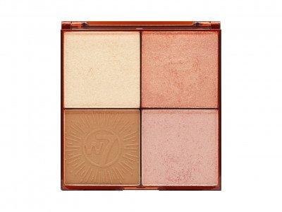 W7 W7 Cosmetics Bronze Brilliance Bronze and Glow Palette Light-Medium