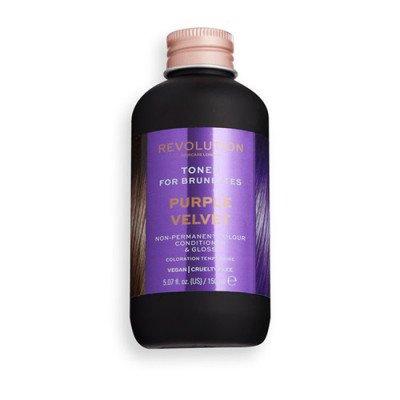 Revolution Hair Revolution Hair Hair Tones For Brunettes Purple Velvet