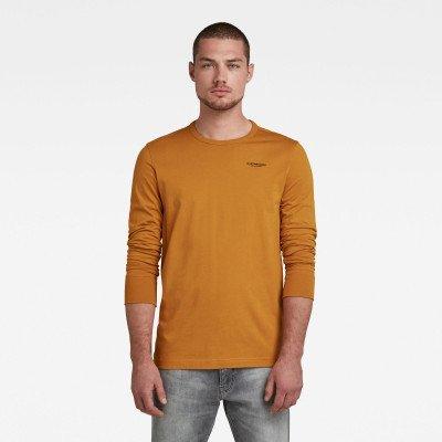 G-Star RAW Base-R T-Shirt - Geel - Heren
