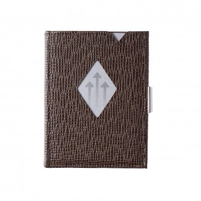 Exentri Exentri Leather Wallet Mosaic Brown