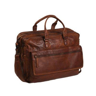 Chesterfield Chesterfield Bags Leren Laptoptas 17 inch Rowan Cognac