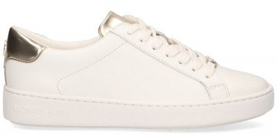 Michael Kors Michael Kors Irving Wit/Goud Damessneakers