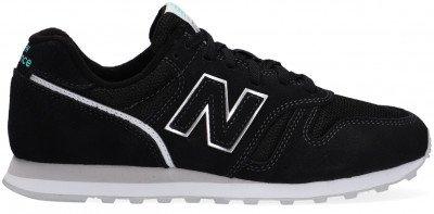New Balance Zwarte New Balance Lage Sneakers Wl373