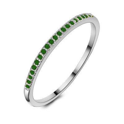 Twice As Nice Ring in zilver, eternity, 48