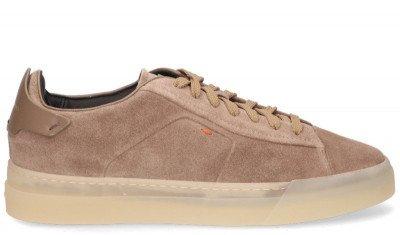 Santoni Santoni 21553 Taupe Herensneakers