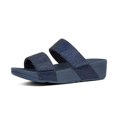 FitFlop FitFlop Mina Crystal slippers blauw