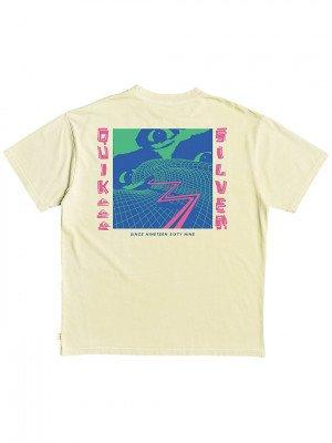 Quiksilver Quiksilver Thunder Rising T-Shirt geel