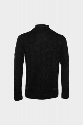BALR. Knitted Hexagon Sweater