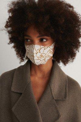 NA-KD Accessories NA-KD Accessories 2-Pack Blossom Scuba Masks - Beige