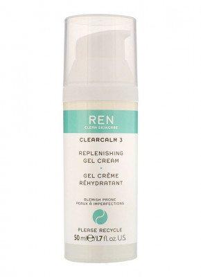 REN REN ClearCalm Replenishing Gel Cream - zuiverende crème