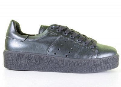 Miss Behave Chantal 12 Grey Sneaker
