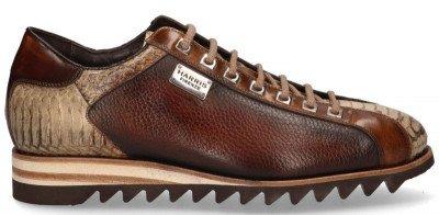Harris Harris 2817 Bruin/Beige Herensneakers