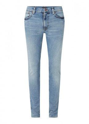 Nudie Jeans Nudie Jeans Lean Dean slim fit jeans in medium wassing