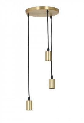 Light & Living Light & Living Hanglamp 'Brandon' 3-Lamps, antiek brons