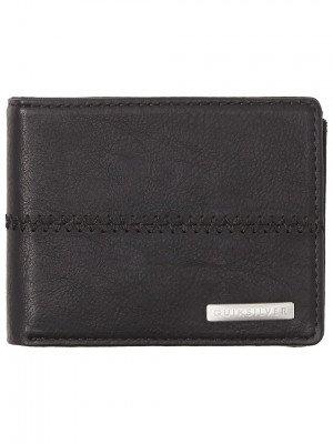 Quiksilver Quiksilver Stitchy 3 Wallet zwart