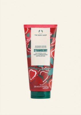 The Body Shop NL Strawberry Shower Scrub 200 ML