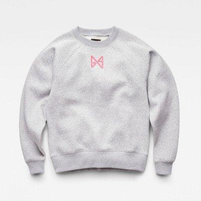 G-Star RAW Butterfly Raglan Loose Sweater - Meerkleurig - Dames
