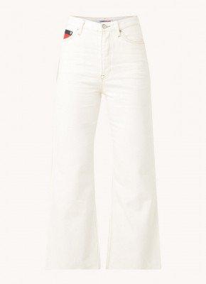 Tommy Hilfiger Tommy Hilfiger Harper high waist flared fit cropped jeans met logo